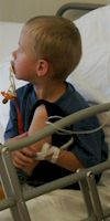 Children in hospital