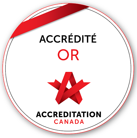 Accréditation canada : gold accredited